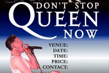 Queen (tribute) – Don't Stop Queen Now