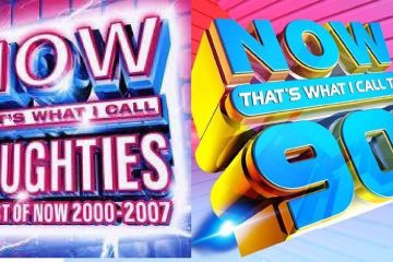 Now Noughties vs Now 90s