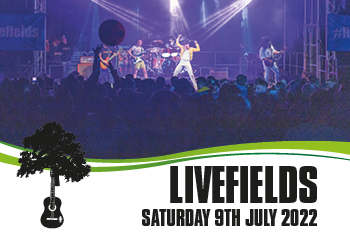 Livefields Festival 2022 – Saturday 9th July